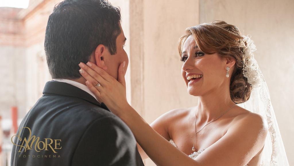 Estudio de fotografia en la Barca Jalisco fotos de novios en boda