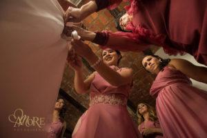 Maquillaje y peinado de novia en Tesistan
