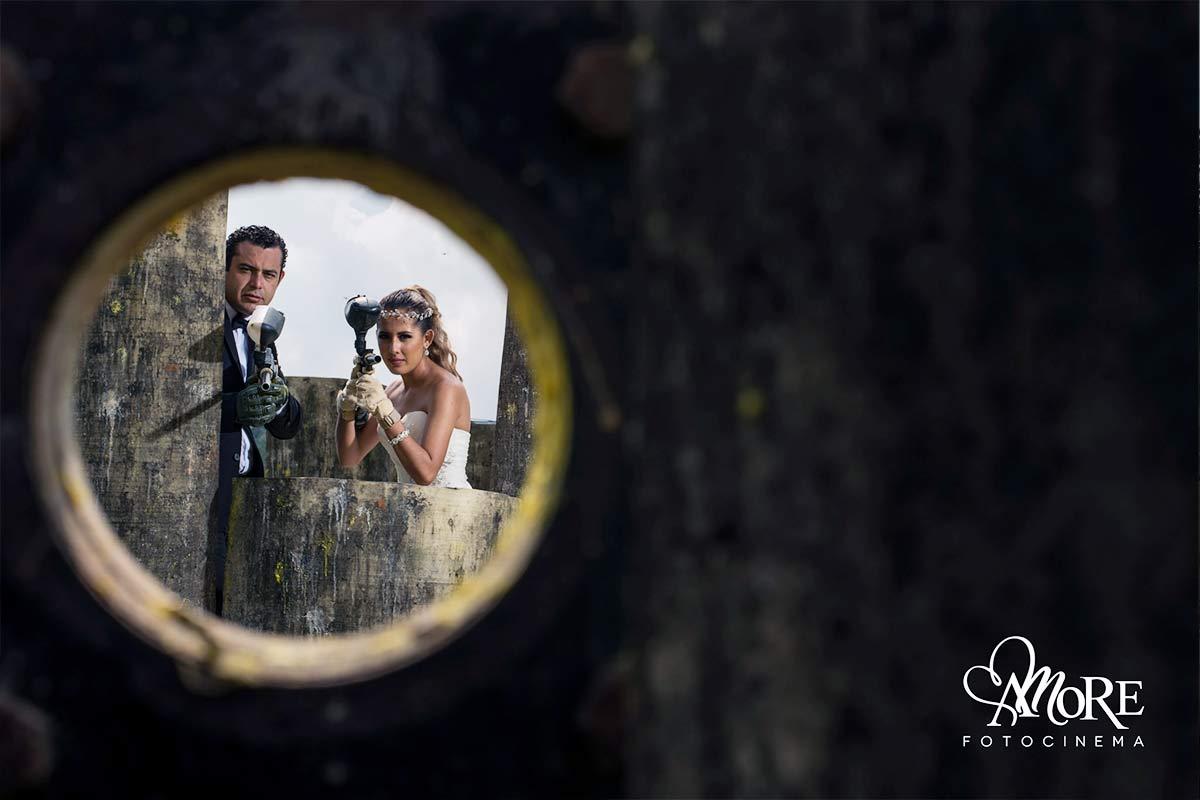 fotografías divertidas después de la boda
