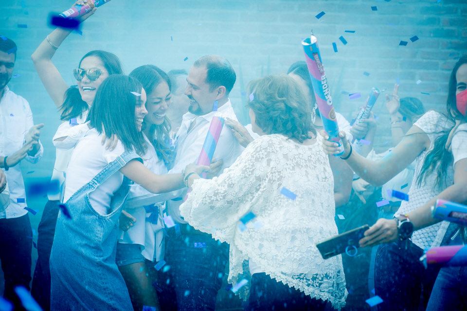 Gender reveal party Guadalajara