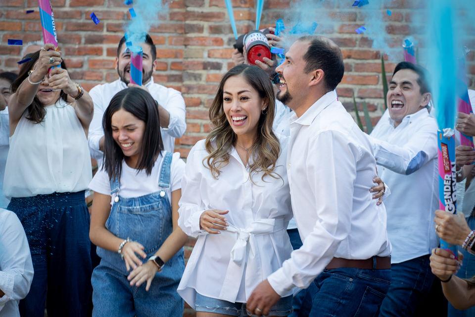 Gender reveal party Jalisco