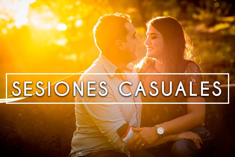 Sesiones casuales pre boda en Guadalajara